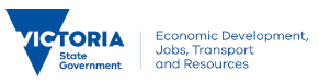 <abbr title='Department of Economic Development, Jobs, Transport and Resources (Victoria)'>DEDJTRVic</abbr>