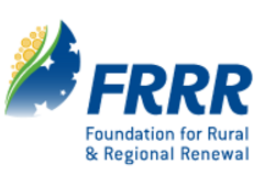 <abbr title='Foundations for Rural and Regional Renewal'>FRRR</abbr>